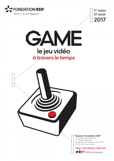 Exposition Game à la fondation EDF de Paris
