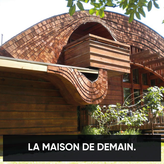 L architecture organique la maison de demain museum for L architecture