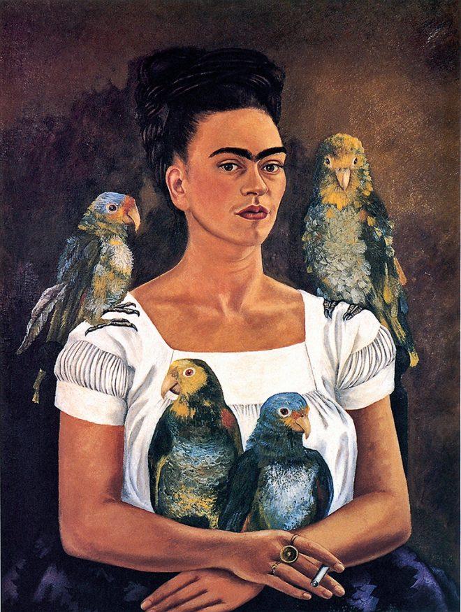 Etre Une Femme Etre Une Peintre Frida Kahlo Museumtv