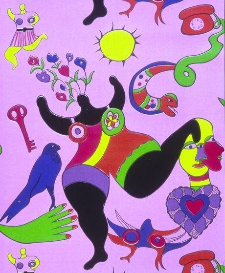 Etre Une Femme, être Une Peintre - Niki De Saint Phalle - MuseumTV