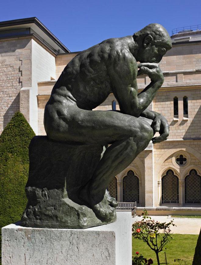 Le Penseur De Rodin Museumtv