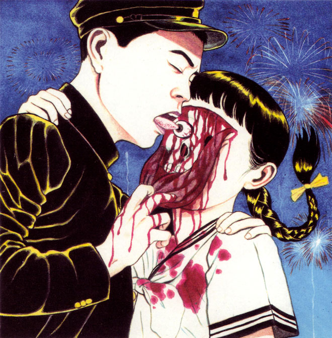 Les tableaux d'halloween #2 : Suehiro Maruo