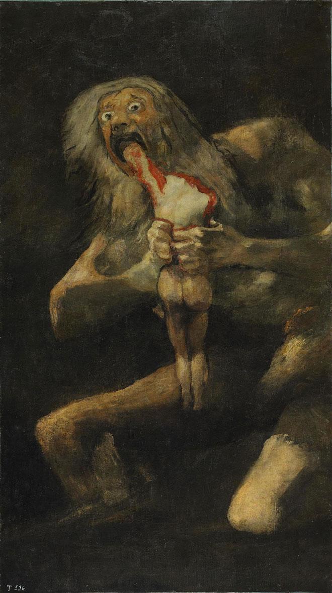 saturne devorant son fils