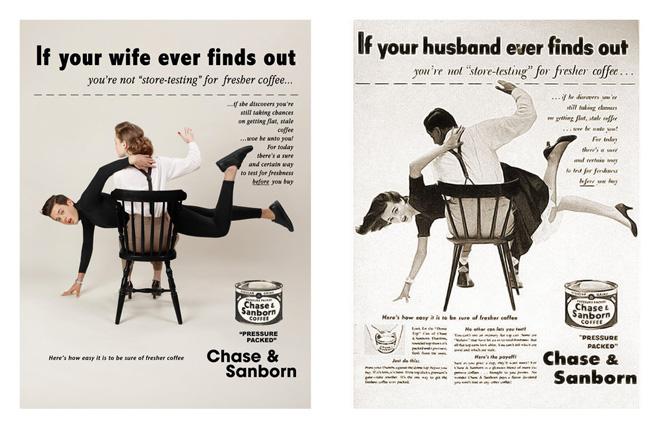 détournement de pubs sexistes