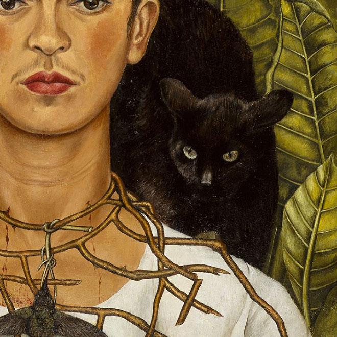 5 messages cach s du tableau de frida kahlo museum - Plante porte malheur ...