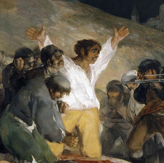 Zoom Sur El Tres De Mayo De 1808 Francisco Goya 1814 Museumtv