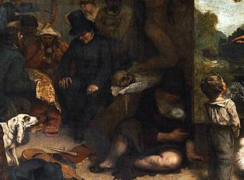 Zoom Sur L Atelier Du Peintre De Gustave Courbet Museumtv