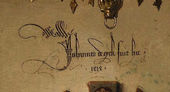 ZOOM SUR : Les époux Arnolfini de Jan Van Eyck - MuseumTV