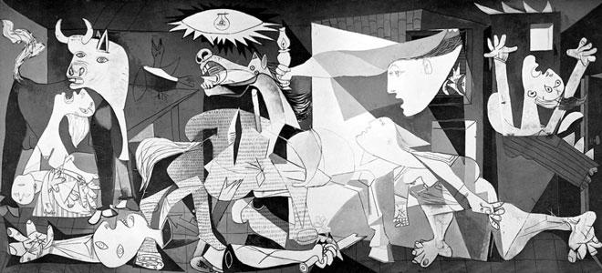 Zoom Sur Guernica Pablo Picasso 1937 Museumtv