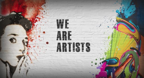 We are Artists not Vandals