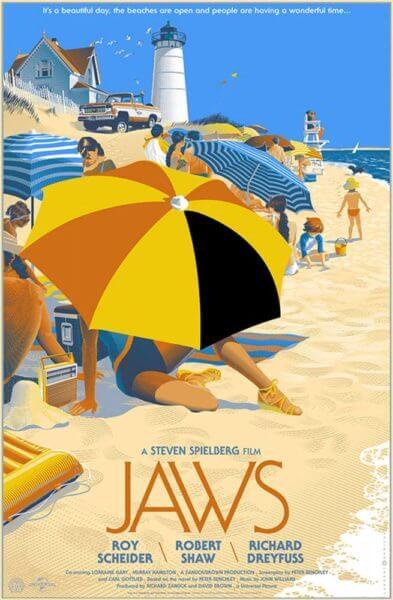 Laurent Durieux réinterprète les plus célèbres affiches de cinéma.