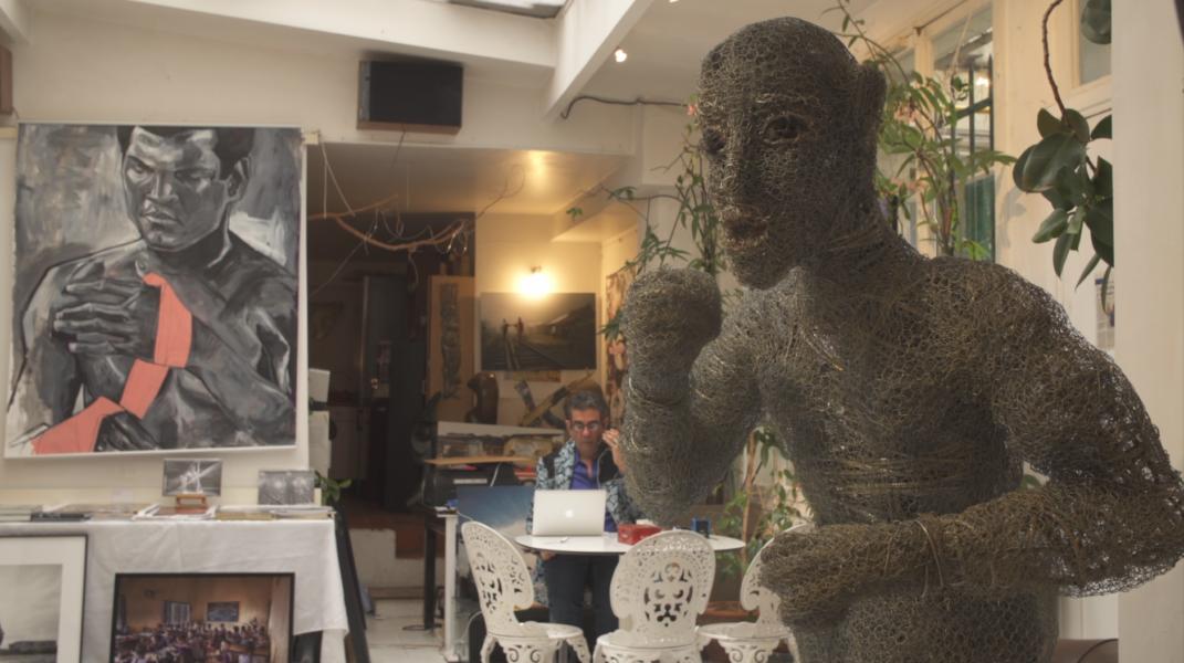 Galerie Art-z : son combat pour la reconnaissance de l'art contemporain africain