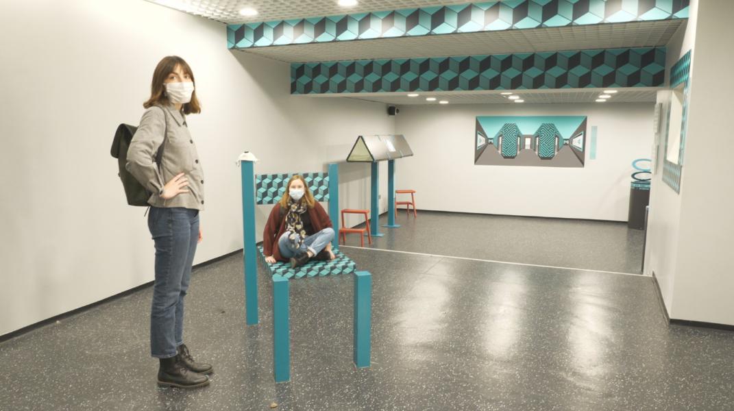 Le musée de l'Illusion met votre rétine à rude épreuve