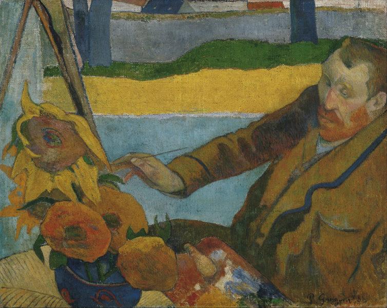 """""""Van Gogh peignant des tournesols"""" Gauguin"""