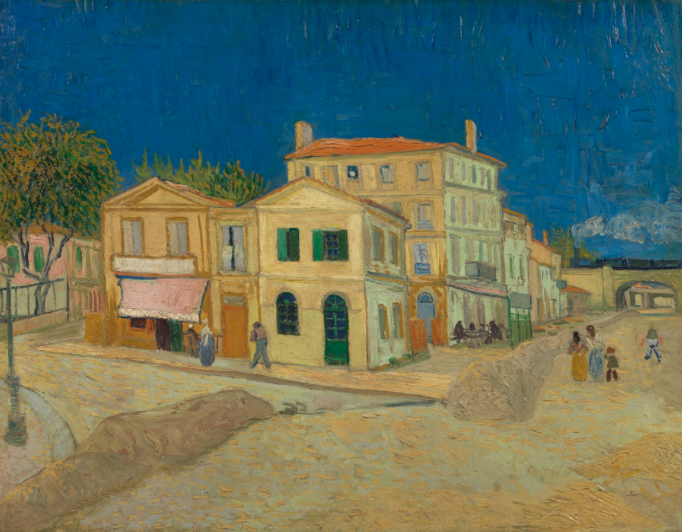 "La Maison jaune"" Van Gogh"