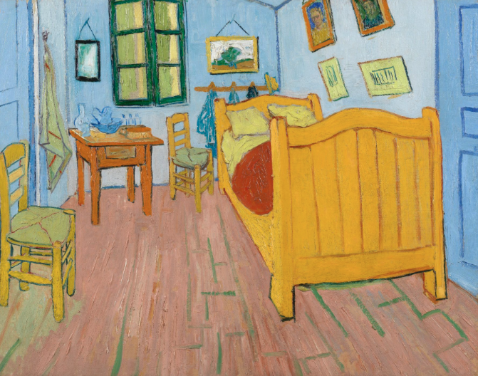 la chambre à coucher Arles de Van Gogh
