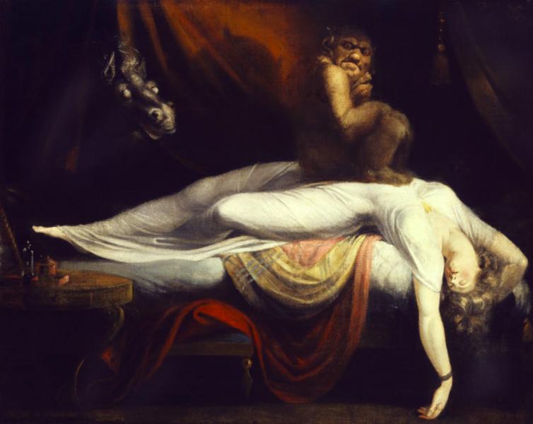 Le cauchemar de Johann Heinrich Füssli