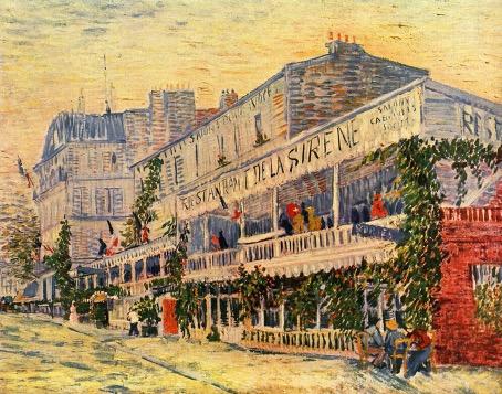 Le restaurant de la Sirène à Asnières, Vincent Van Gogh